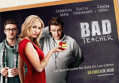 bad teacher-peliculas de comedia